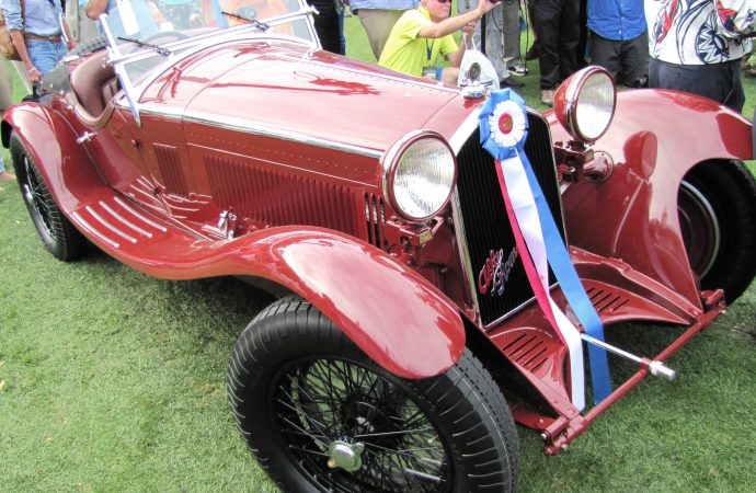 Cord, Alfa Romeo win Amelia Island best of show awards