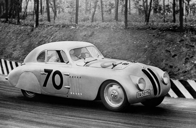 1940 'Mille Miglia'-winning BMW 328 at Amelia Island