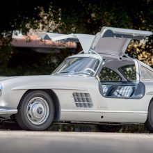 First 300 SL gullwing sold in U.S. joins historic registry