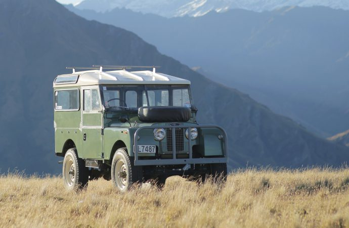 Copperstate 1000 launching vintage off-road rally