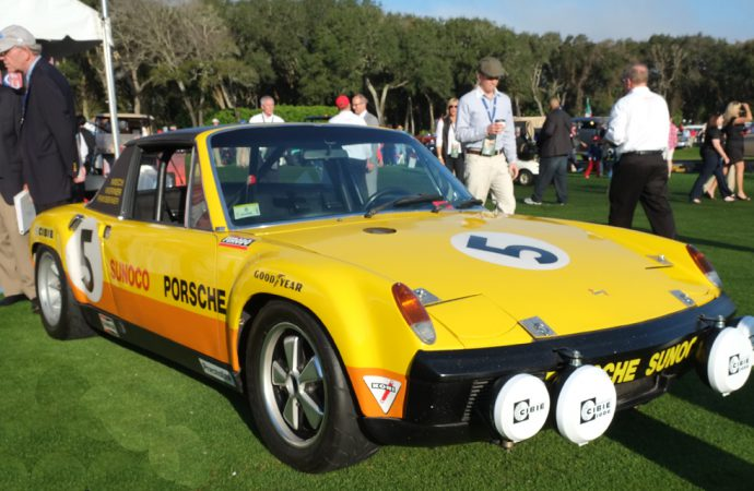 Porsche 914 finally gets its place on the show field