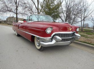 Tarzan's Cadillac for sale at the Branson Auctions