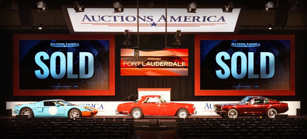 Ford GT, Ferrari and 'Shorty' Mustang help produce $21.3 'kick start | Auctions America photo