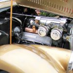 Hand-built-supercharged-hot-rod-engine