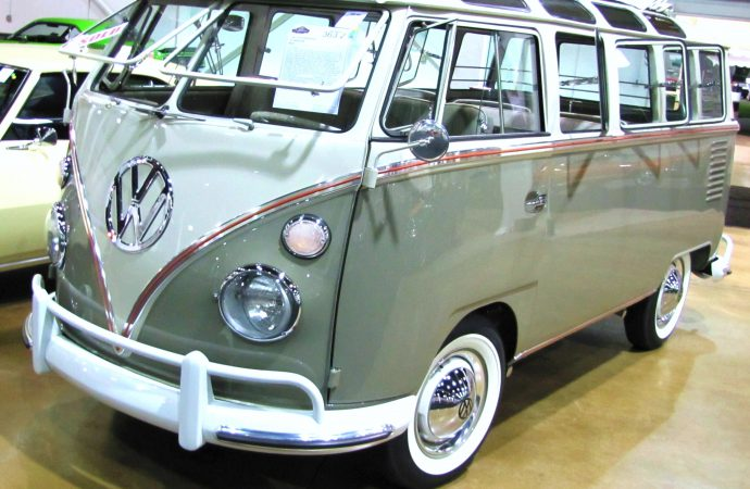 Still groovy, the VW microbus turns 65