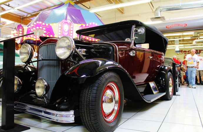 Goodguys tour rod and custom shops, museums on eve of Spring Nationals