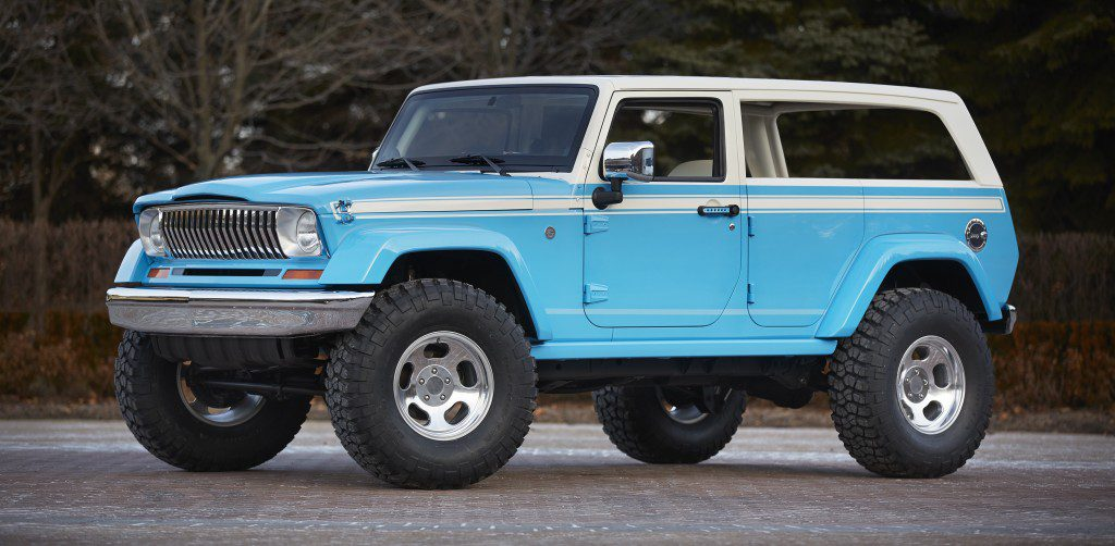 Jeep Chief concept pays homage to classic Wagoneer and Cherokee | FCA photos