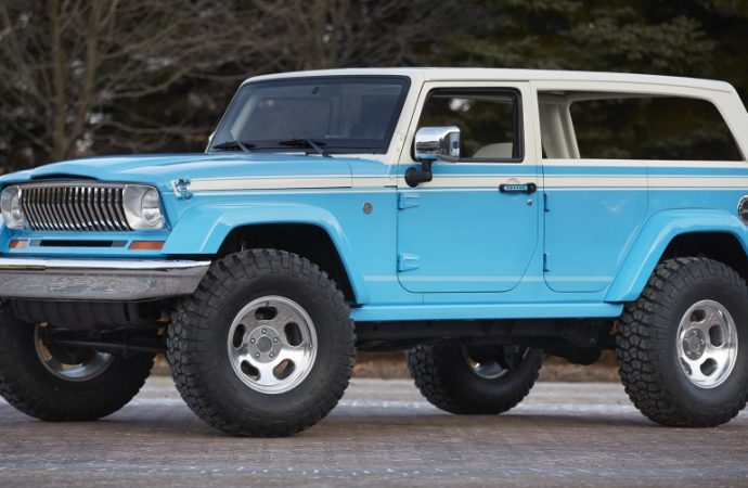 Jeep honors heritage with a pair of resto-mods for Moab