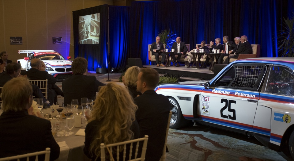At the Legends of BMW dinner | BMW photo