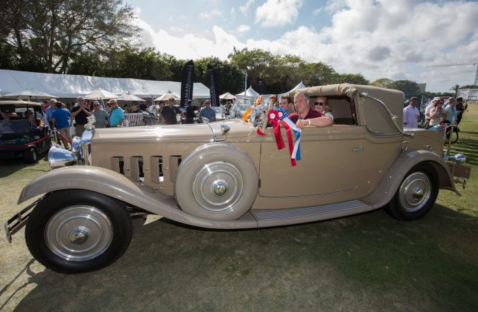 Cassini's Minerva best in show at Boca Raton concours