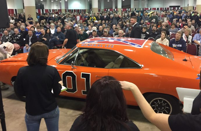 Cleveland auto show included a classic car auction