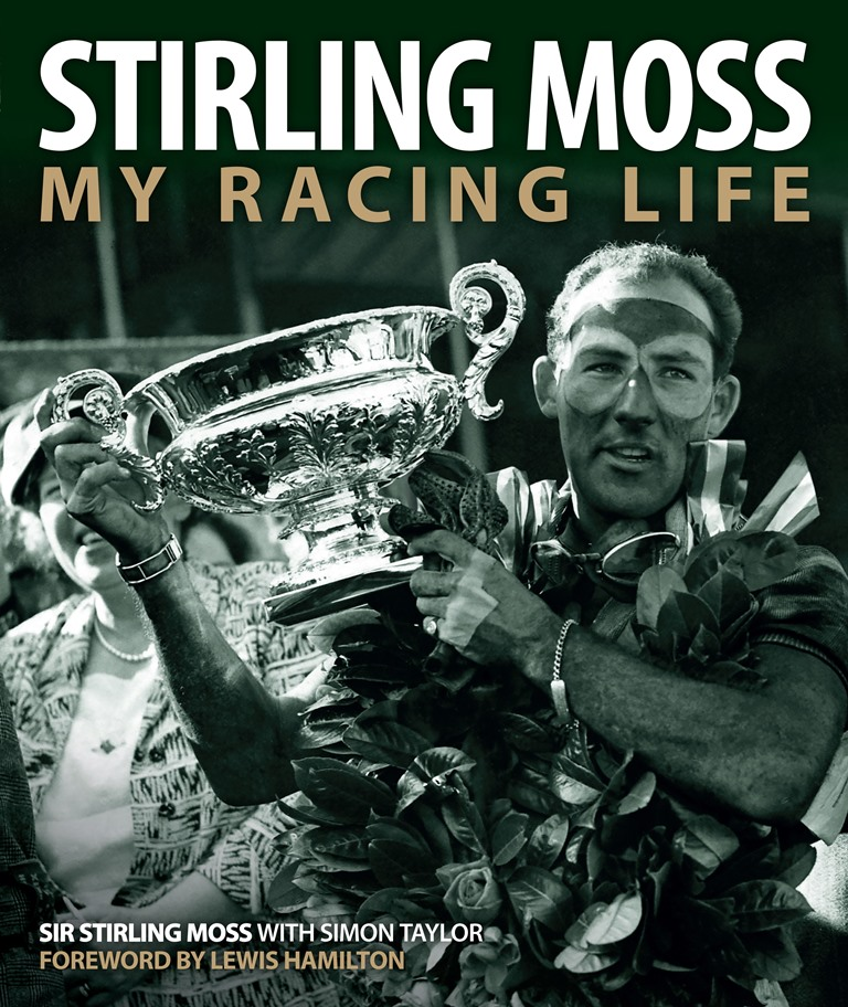 Sir Stirling Moss - My Racing Life - Cover