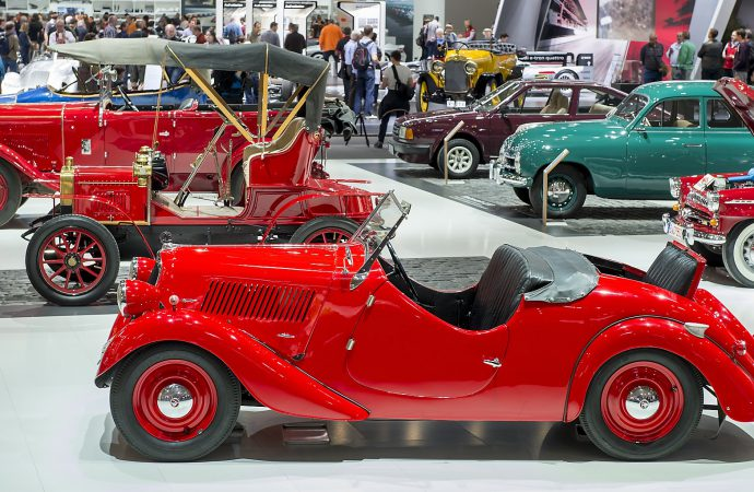 Techno-Classica Essen provides show space and marketplace for classic cars
