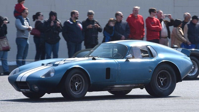 The 1964 Shelby Cobra Daytona Coupe will run at Demo Day