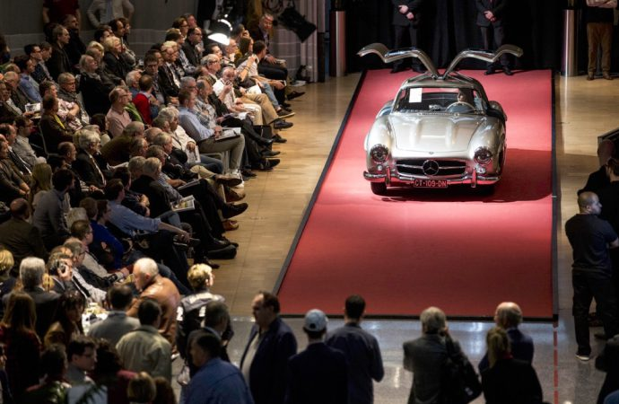 Bonhams second sale at Mercedes-Benz Museum exceeds inaugural effort