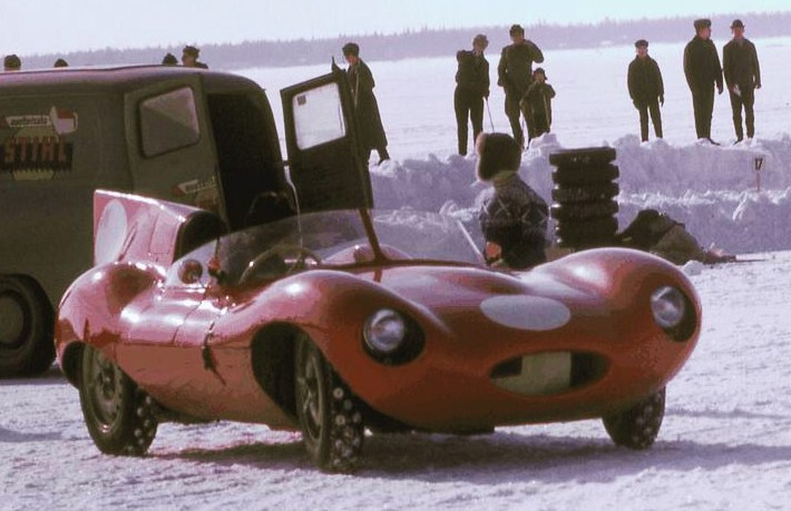 XKD 530 on the ice in Finland in 1963 | Kari T. Tossavainen
