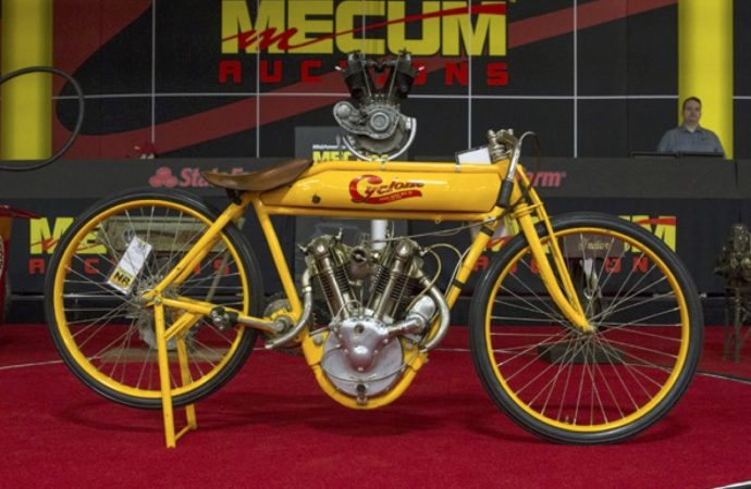 Cole motorcycle collection hammers at nearly $12.3 million at Mecum sale