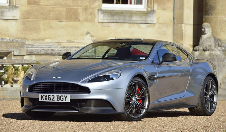 A 2015 Aston Martin Vanquish will be one of the modern supercars on display | Simeone Museum photos