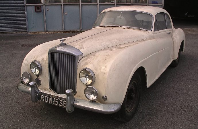 Barn-found Bentley among cars offered at British auction April 21