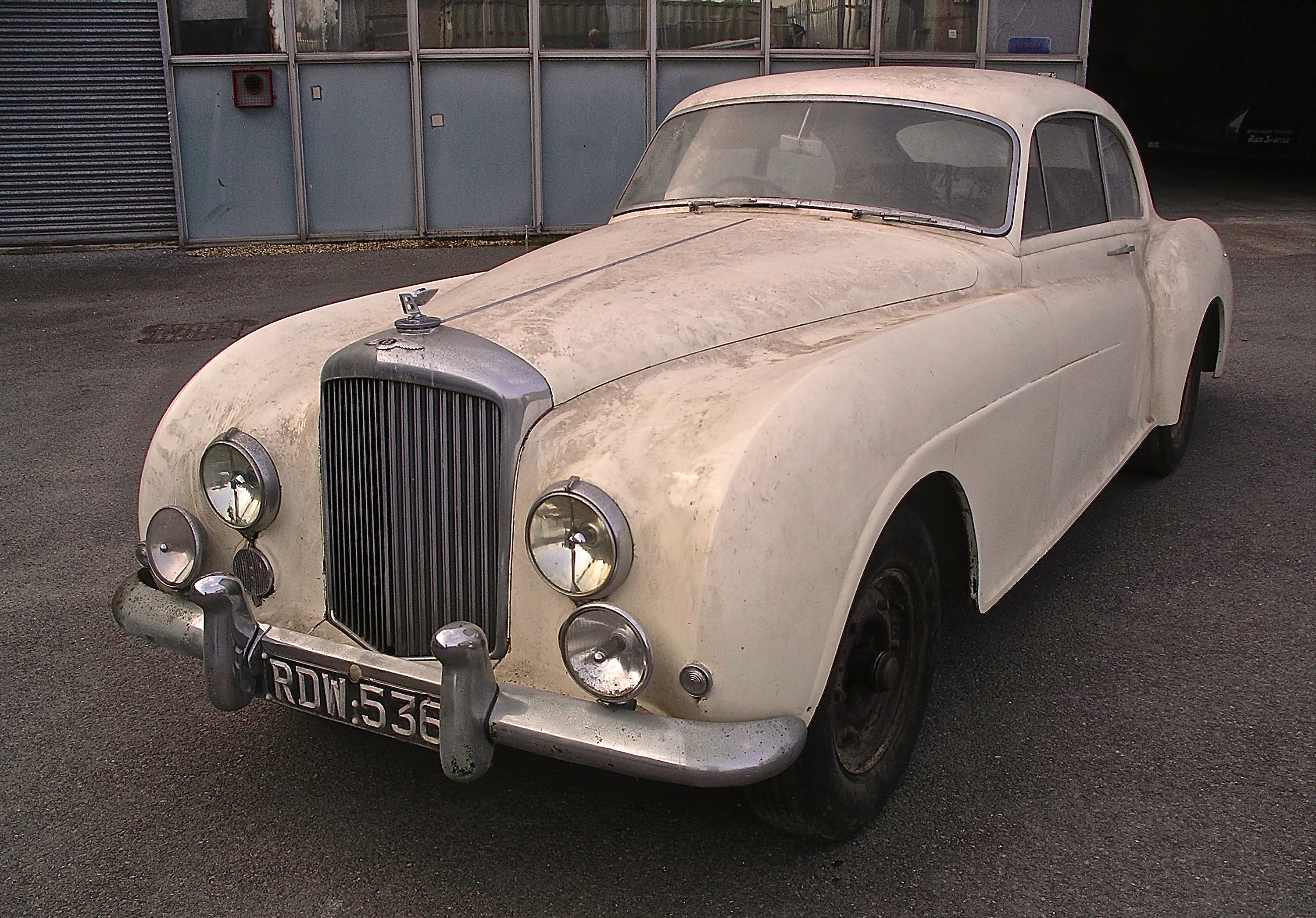 Barn Found Bentley Among Cars Offered At British Auction April 21