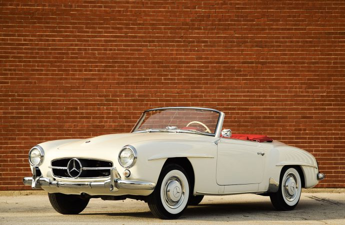 Countdown to Barrett-Jackson Palm Beach: 1959 Mercedes-Benz 190SL