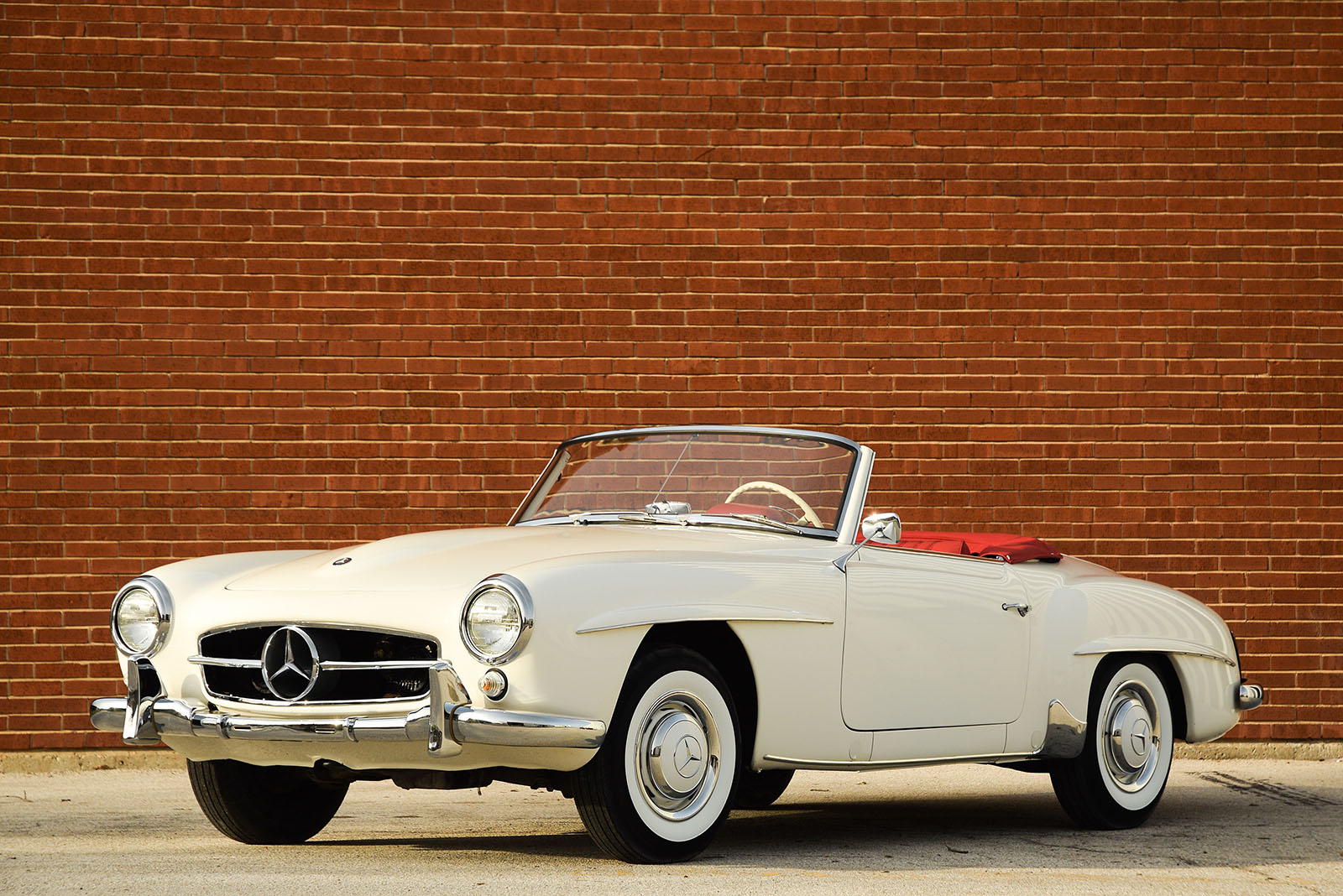 Countdown to barrett jackson palm beach 1959 mercedes for Palm beach mercedes benz