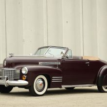 Countdown to Barrett-Jackson Palm Beach: 1941 Cadillac Series 62 convertible