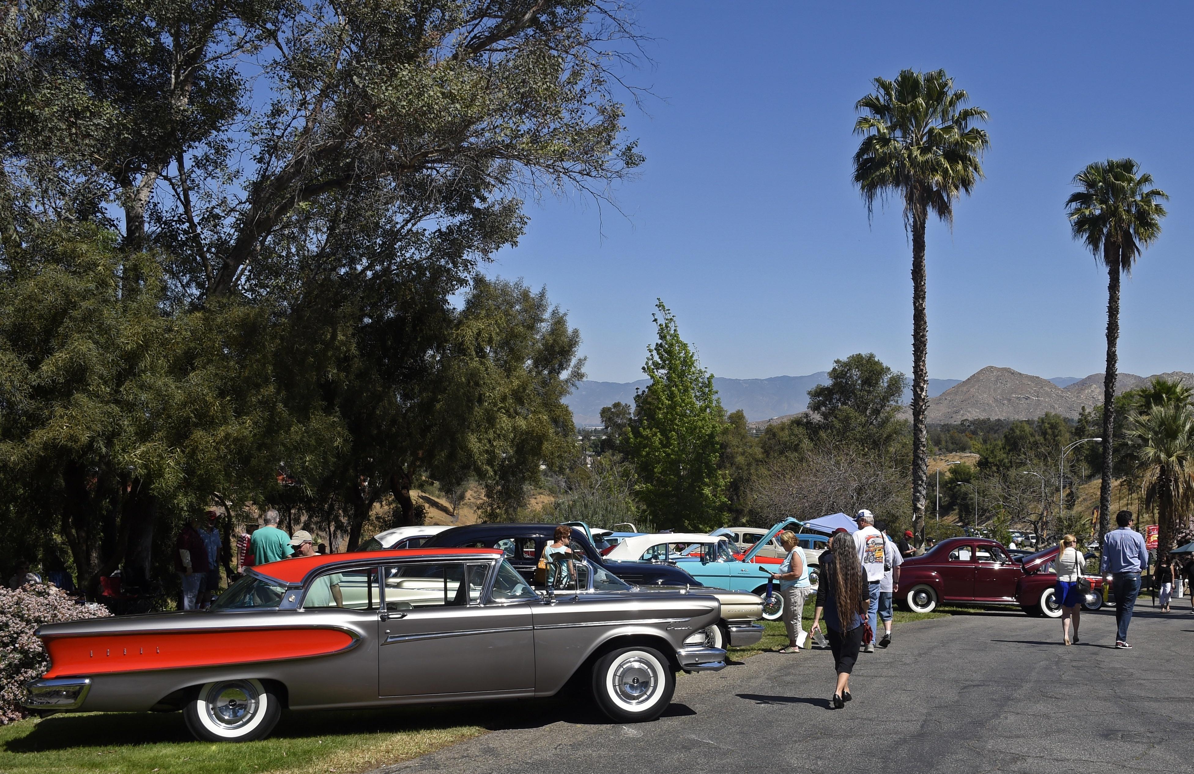 Riverside Ca Car Show Today