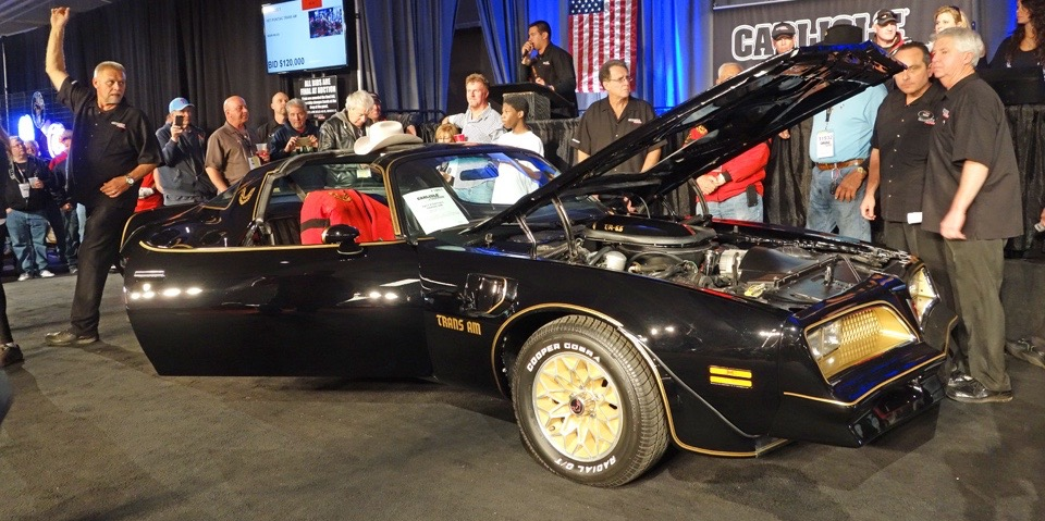 Burt Reynolds' final Bandit brings $172,000 at Spring Carlisle auction