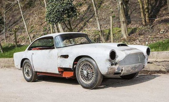 This DB4 restoration project is valued at $300,000-plus