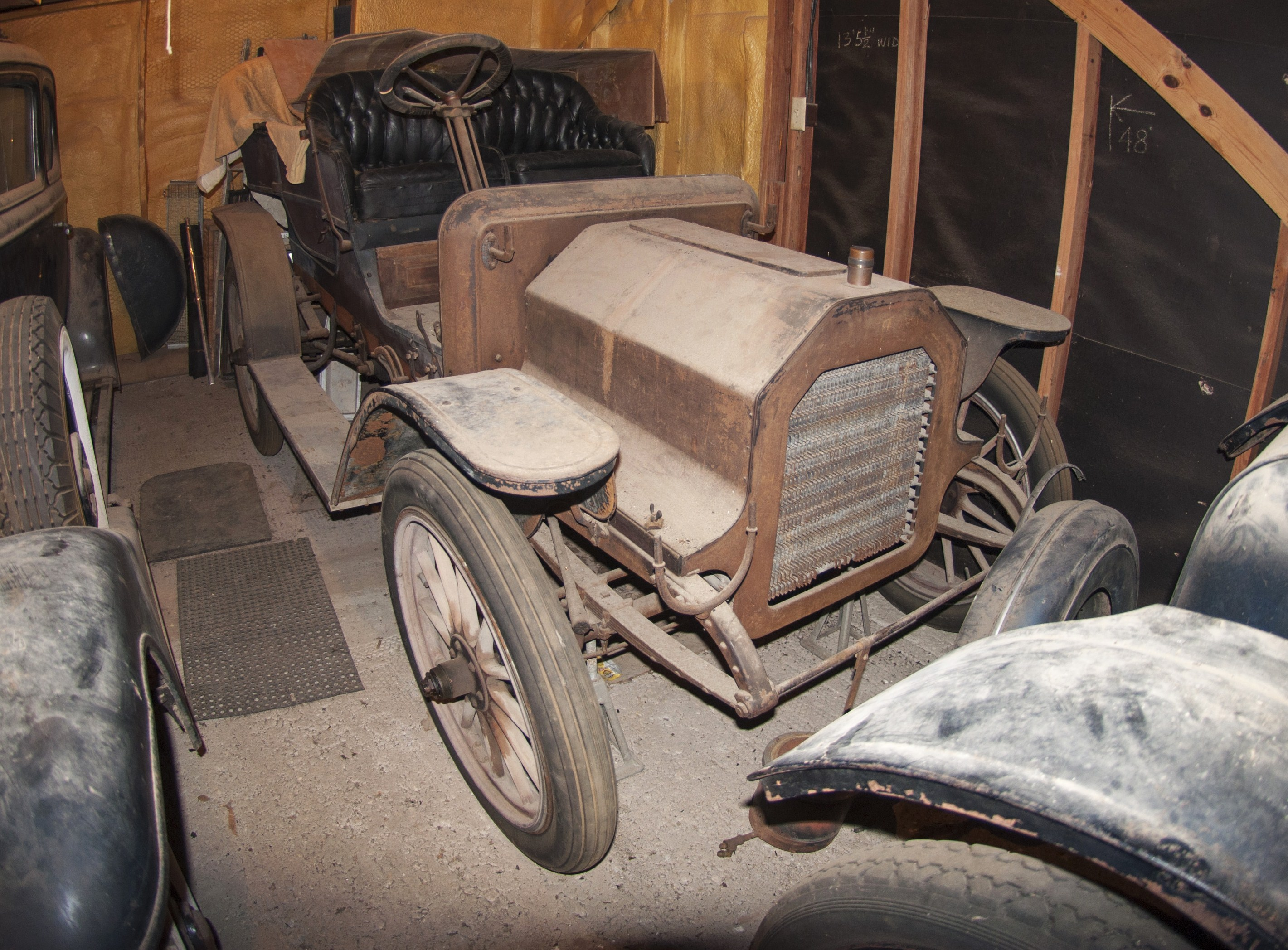 The 1908 REO Roadster Is A Desirable Antique