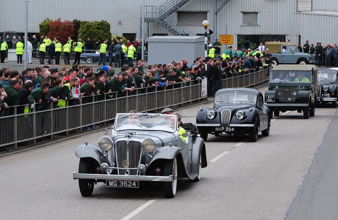 British auto history parades to Solihull