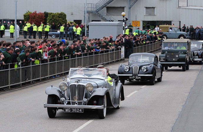 British auto history parades to Solihull