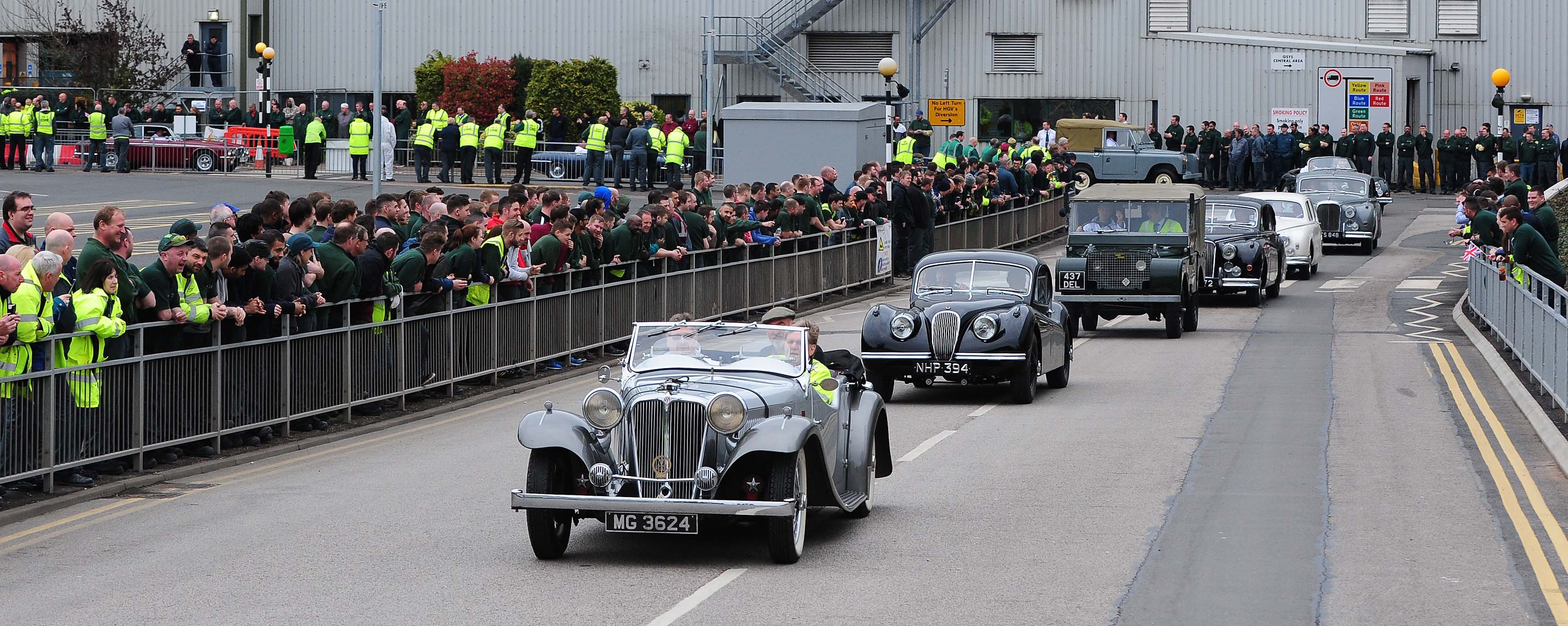 British auto history parades to Solihull - ClassicCars.com Journal