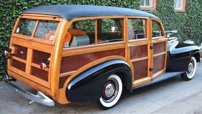 1940 Oldsmobile Dynamic wagon