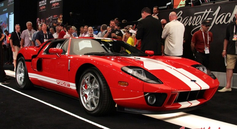Top-selling car was a 2006 Ford GT