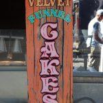 funnel cake sign