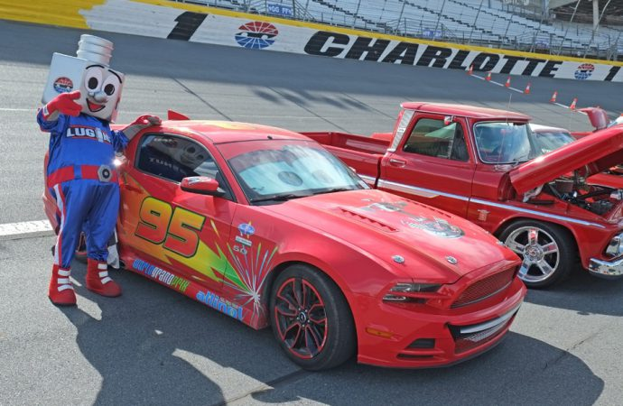 Day 2 at Charlotte: Dodges, Americarna, DeLoreans and a chat with Bobby Allison