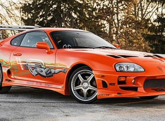 'Fast and Furious' 1993 Supra stunt car goes to auction