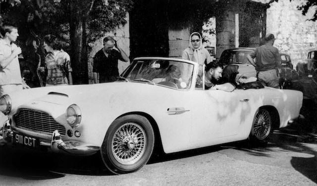 Peter Ustinov's Aston Martin stars in Bonhams' sale