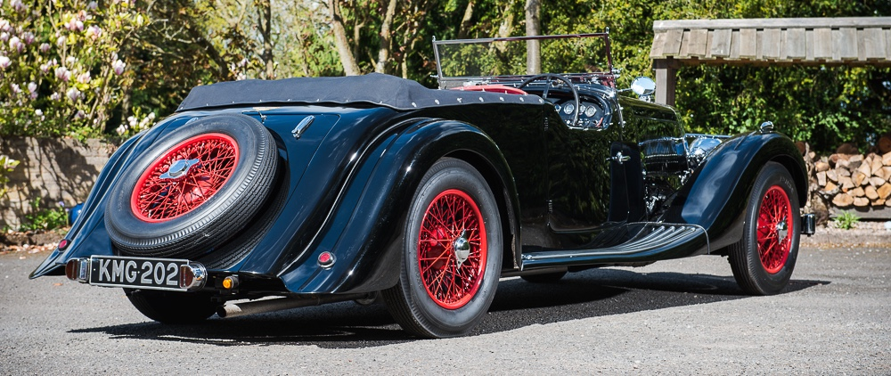 '37 Aston spent 40 years in storage before restoration
