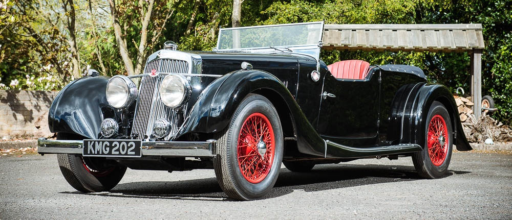 1937 Aston Martin 15/98 2L Long-Chassis Tourer one of only 24 built | Silverstone Auctions photos