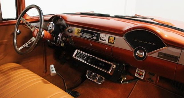 The interior has been upgraded but kept true to the era