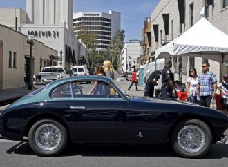 Eye Candy: Concorso Ferrari on Old Pasadena's Colorado Boulevard