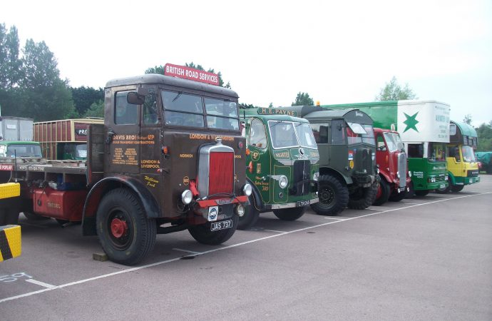 'Classic and Vintage Commercial Show' at Heritage Motor Centre