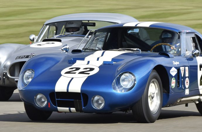 Shelby Cobra Daytonas to reunite at Goodwood Revival