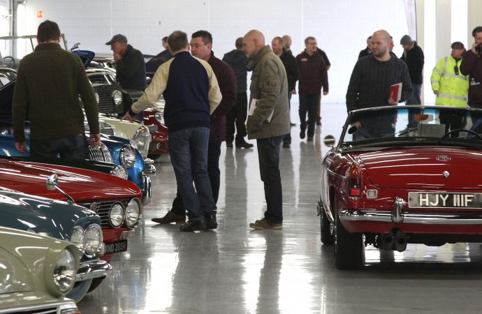 Change of venue for Classic Car Auctions in UK