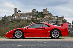 The Ferrari F40 was one of Pininfarina's designs
