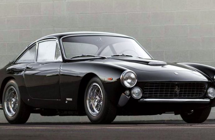 Lovely Ferrari Lusso at Russo and Steele in Monterey