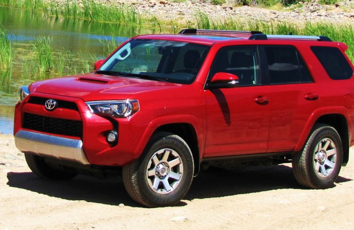 Driven: 2015 Toyota 4Runner Trail Premium